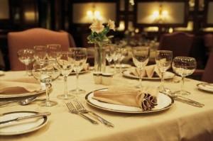 elegant dining catering