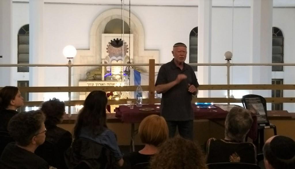 Alex Konstantyn - Holocaust lecture 1a